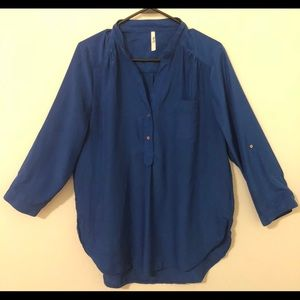 Truth blouse royal blue size XL